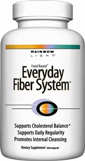 Everyday Fiber System Vcaps Multi-fiber & herb system to support daily regularity, promote internal cleansing and maintain healthy cholesterol levels* .