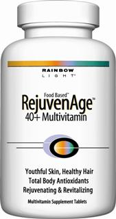 RejuvenAge 40+ Multivitamin  Scientifically advanced nutritional defense against the effects of aging*.
