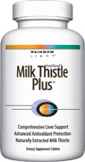 Milk Thistle Plus  Targeted botanical & nutrient support for overall liver health* .