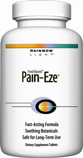 Pain-Eze For common aches and pains including muscle, menstrual, back or tension discomfort*.