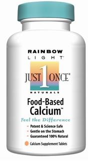 Food-Based Calcium  Delivers 500 mg calcium & 250 mg magnesium in just one tablet!.