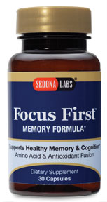 Focus First Memory Formula today for healthy, active memory support.* Inspired by life's happiest memories  beneficial health solutions for life!.