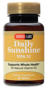 Get your daily dose of sunshine today with Daily Sunshine Total D3. Inspired by the suns natural benefits  beneficial health solutions for life!.