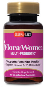 iFlora Probiotics for Women contains six specific strains and 15 billion cells per capsule specifically selected to maintain a normal level of yeast in the body, as well as healthy vaginal flora and urinary balance. This premier blend also helps sustain healthy digestion and normal bowel function, surviving stomach acid to provide maximum effectiveness for women's health..