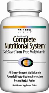 Complete Nutritional System SafeGuard Iron-Free Multivitamin