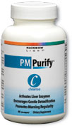 PM Purify  Supports liver renewal, gentle detoxification and morning regularity  will not disrupt sleep.