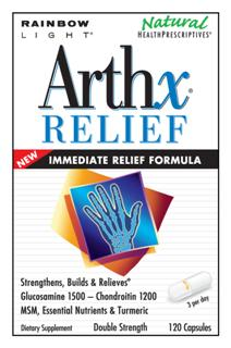 ArthX Relief - The only joint formula for strengthening and building support with  