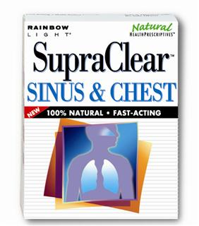 SupraClear Sinus & Chest - Soothes common respiratory irritation and supports healthy immunity* - fast-acting!.