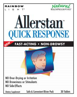 Allerstan Quick Response - Naturally supports the body's healthy protective response to common environmental irritants*.