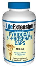 Pyridoxal 5-Phosphate 100 mg (60 caps)- Vitamin B6 found in conventional supplements plays a crucial role in numerous life processes. The pyridoxamine form of vitamin B6, however, has been validated to protect the body's living proteins..