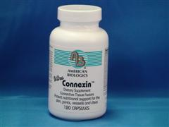 ConnexinTM promotes connective tissue renewal, blood vessel wall strength, and the integrity of the invertebral discs.