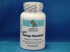 Ultra Omega Essentials facilitates a wide range of cell functions and provides a wide range of benefits to health and well-being. Ultra Omega Essentials is a key complement to American Biologics Multiplex Advanced..