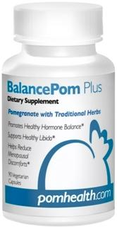 Pomegranate blended with Traditional Herbs promoting hormone balance and menopause relief..
