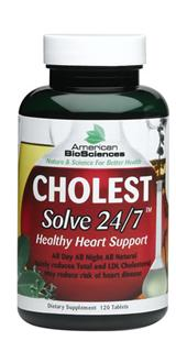 Safely reduces Total and LDL Cholesterol - May reduce risk of heart disease - All Natural Dietary Supplement.