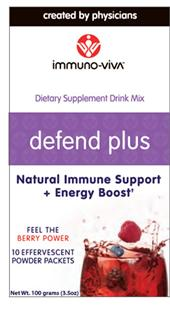 This antioxidant powerhouse is 9x more potent than Acai berries. Pour the Defend Plus antioxidant rich powder into an 8oz glass of water and experience the potent and great tasting  immune support!.