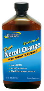 Hydrosol made exclusively from true Neroli orange.