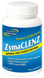 Ultra concentrated non-GMO enzymes and raw vitamin C.