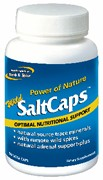 Wild SaltCaps is the ideal way to balance the body's internal salt needs with Korean, Mediterrranean, and Celtic sea salts with northern Pacific kelp and wild oregano leaf.