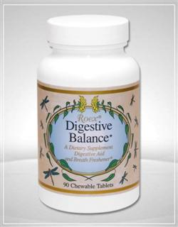 Digestive Balance is a chewable tablet in a special formulation of digestive enzymes..