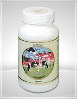 Roex Mother's Gift Colostrum is one of nature's richest sources of natural growth factors..