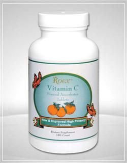 Roex Vitamin-C Mineral Ascorbates is specially formulated to be non-acidic and gentle to the stomach.