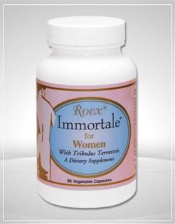 Immortale for Women is a formulation of natural herb and plant extracts designed to assist the body in maintaining a healthy reproductive system..