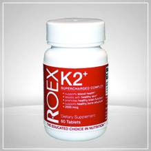 Scientifically formulated to support the cardiovascular system. K2+ Supercharged Complex includes Vitamin K (as Menaquinone-4 (MK-4), Phytonadione (Vitamin K1) and Menaquinone-7 (MK7)..