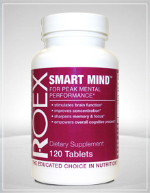 Roex Smart Mind is a unique blend of nutrients that promotes and enhances healthy brain function..