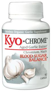 A healthy diet, regular exercise and Kyo-Chrome can help you take more control of your insulin function, maintain healthy weight management and add more energy to your life!.