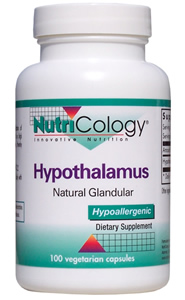 Nutritional support for the hypothalamus, considered to be control headquarters for the limbic system.* The hypothalamus controls most of the vegetative and endocrine functions of the body, as well as many aspects of emotional behavior..