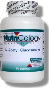 N-Acetyl Glucosamine (NAG) differs from glucosamine sulfate in that it is attached to an acetic acid molecule, while glucosamine sulfate is attached to a sulfuric acid molecule..