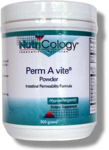 Perm A vite is designed to support the body's production of healthy epithelial tissue lining the GI tract.* Degradation of the intestinal lining results in intestinal permeability (also known as 'leaky gut')..