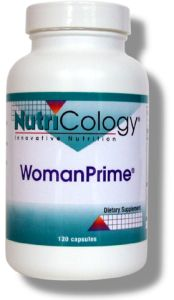 WomanPrime is a safe, natural, gentle way to support a woman during the time of menopause.  Dr. Devaki L. Berkson.