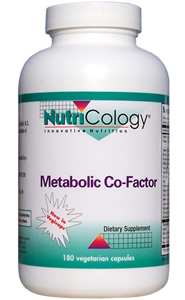 Metabolic Co-Factor is a multiple vitamin and mineral formula, developed by Dr. Leo Galland, M.D., to support the metabolism and utilization of essential fatty acids..