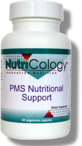 Contains diindolylmethane, or DIM, which has been shown to support healthy estrogen metabolism. Combined with Vitex and Green Tea Extract, this formula offers nutritional support for premenstrual and breast health. Most extensive PMS formula..