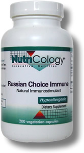 Russian Choice Immune contains a specific strain of Lactobacillus rhamnosus lysate powder. These Lactobacillus cell wall fragments have shown significant immune system supporting properties..