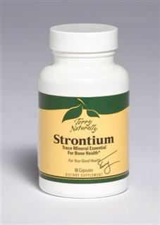 Strontium is one of the many trace minerals essential for bone health..