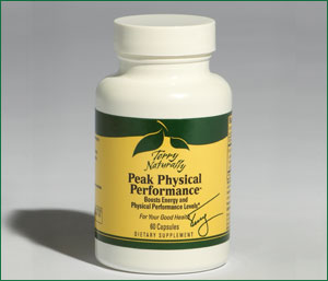 Peak Physical Performance is formulated to help increase physical performance and energy by reducing oxidative stress in the muscles, as well as, reducing accelerated aging, supporting neuro-function and  cardiovascular function; decreasing muscle and joint disorders, reducing risk of muscular  damage due to exercise; increasing power during physical effort, and optimizing athletic performance. .