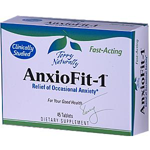 The specific type and ratio of Echinacea compounds in AnxioFit-1 are not found in any other Echinacea product..