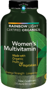 Therapeutic potency, whole food nutrition in a certified organic, vegetarian multivitamin supporting women's health and well being..
