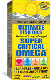 Leading the way in Omega-3 supplementation, Norwegian Gold Ultimate Fish Oils combine concentrated EPA, DHA and other powerful Omega oils to promote optimum digestive function and enhance overall health..