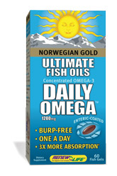Ideal for daily health maintenance, Daily Omega utilizes the combined benefits of EPA, DHA and other Omega-3 and Omega-9 oils to nourish and support your daily health..