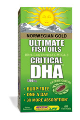 The World Health Organization recommends at least 2 grams of Omega-3 oils per day. Because the body does not produce these beneficial fats, the only way to get them is through diet or supplementation..