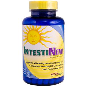 Natural digestive health support formula for digestive tract function & a healthy intestinal lining..