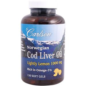 Norwegian Cod Liver Oil promotes healthy heart, arteries, joints, brain-nerve function and bone strength..