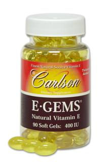 Nearly forty years have gone into developing the range and potency depth of the Carlson All-Natural Vitamin E product line..