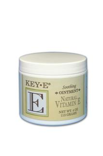 Key-E Ointment is formulated with 100% natural-source Vitamin E to soften, soothe, lubricate and heal dry skin..