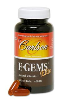 EGEMS Elite provides 400 IU of Vitamin E as d-alpha tocopherol, plus the benefits of beta, delta and gamma tocopherols and their 4 corresponding tocotrienols..