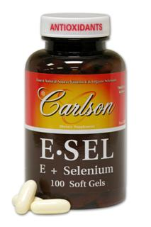 ESel soft gels provide Vitamin E and Selenium dispersed with apple pectin which emulsifies with water, tea, juice and other liquids..