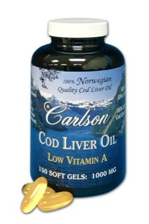 Cod Liver Oil with Low Vitamin A contains approximately 300% more Cod Liver Oil than other Cod Liver Oil soft gels..